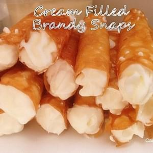Cream Filled Brandy Snaps