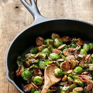 Tart Cherry-Glazed Brussels Sprouts