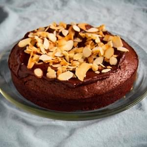 Flourless Chocolate Almond and Coconut Cake
