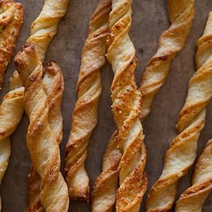 Parmesan Garlic Straws