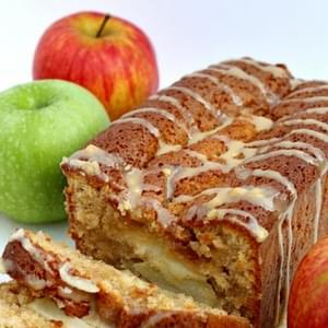 Moist Caramel and Apple Loaf