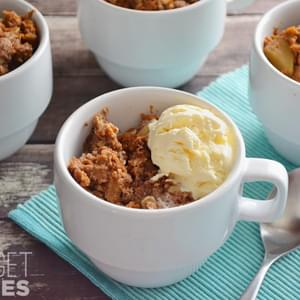 Slow Cooker Apple Pumpkin Pudding