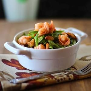 Sauteed Green Beans with Shrimp or Ginisang Bitsuelas