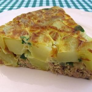 Spanish Omelette With Tuna