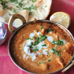 Murgh Makhani or Restaurant Style Butter Chicken