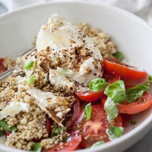 Heirloom Caprese Salad with Burrata Recipe
