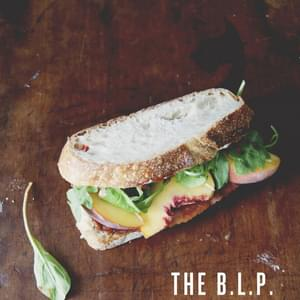 THE B.L.P. – BACON + LETTUCE + PEACH (WITH SRIRACHA MAYO)