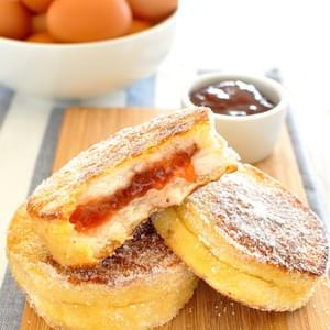 Jam Jelly Doughnut French Toast