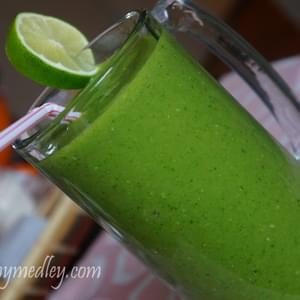 Tropical Green Smoothie... The best ever!!