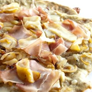 Prosciutto, Apple and Caramelized Onion Flatbread