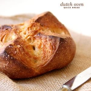 Dutch Oven Quick Bread