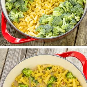 One Pot Wonder Pasta Con Broccoli