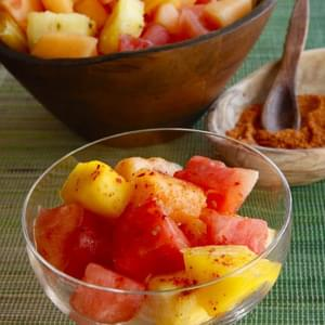 Ensalada de Frutas con Chile - Spicy Mexican Fruit Salad