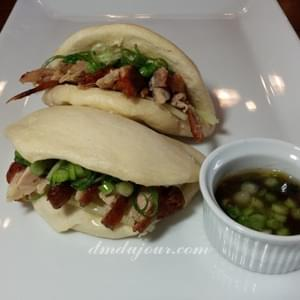Steamed Buns with Roast Duck