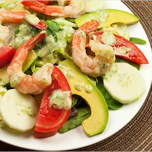 Easy Paleo Shrimp and Avocado Salad Recipe