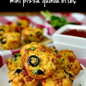 Mini Pizza Quinoa Bites