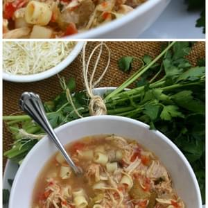 Slow Cooker Sicilian Chicken Soup