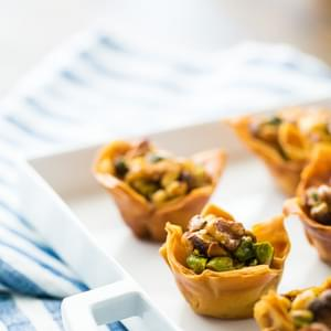 Homemade Mini Filo Cups