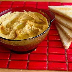 Bean and Sesame Seed Spread (Hummus) recipe – 77 calories