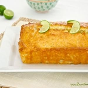 Key Lime Coconut Tea Bread