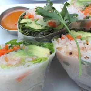 Crab-and-Perilla Summer Rolls