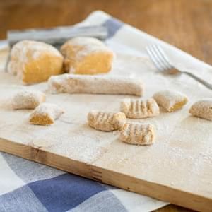 Whole Wheat Sweet Potato Gnocchi