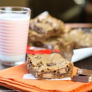One-Bowl Candy Bar Blondies
