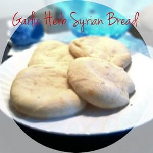 Garlic Herb Syrian Bread