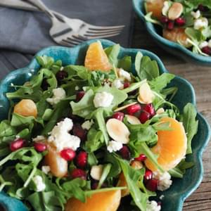 ... Ricotta Salad with Toasted Almonds and Avocado (aka Antioxidant Salad