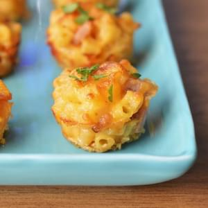 Ham and Cheese - Mac and Cheese Bites