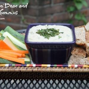 Cannellini Bean and Mint Hummus