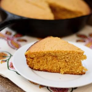 Roasted Sweet Potato and Spice Cornbread