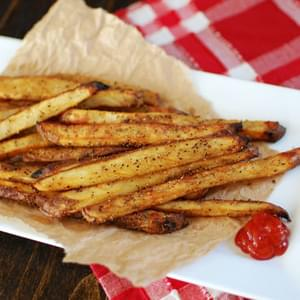 Crispy Baked French Fries