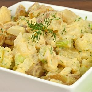 Egg and Potato Salad w/Buttermilk-Dill Dressing