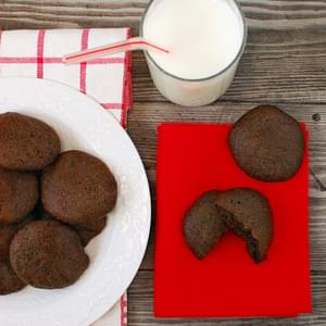 Big, Soft, Almost Fat Free Chocolate Cookies