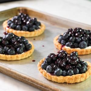 Mom's Blueberry Pie Recipe