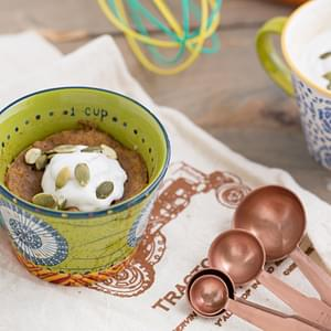 Sweet Potato Mug Cake