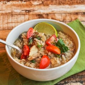 Arroz Caldo (Filipino Chicken and Rice Porridge)