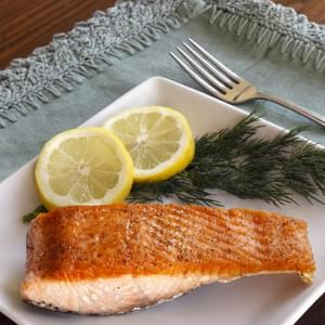 How to Sear Salmon Fillets