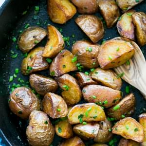 Crisp Sautéed Red Potatoes