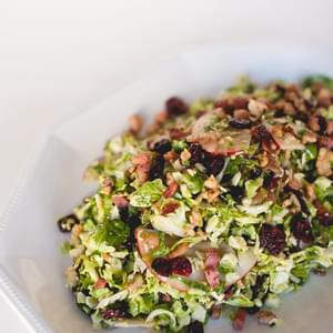 Shaved Brussels Sprout Salad With Cous Cous, Chia Seeds ...