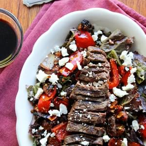 Grilled Balsamic Steak Salad