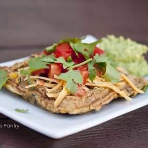 Clean Eating Mexican-Style Waffle Omelets