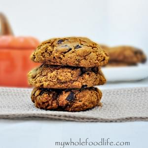 Pumpkin Chocolate Chunk Cookies and a Giveaway!