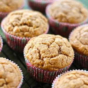 Gluten Free Peanut Butter And Banana Muffins