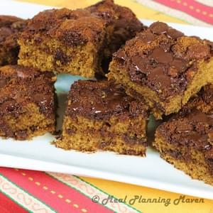 Chocolate Chip Coffee Cake Squares