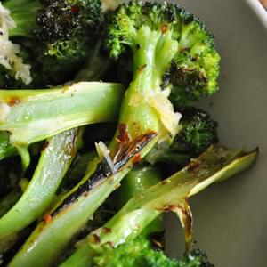 Garlic Parmesan Broccoli
