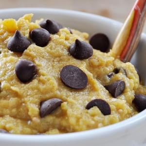 Chocolate Chip Pumpkin Cookie Dough, Vegan+ Gluten-Free