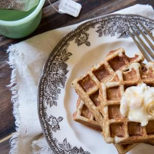 Honey Yogurt Waffles Recipe