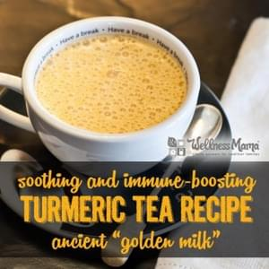Turmeric Tea Golden Milk